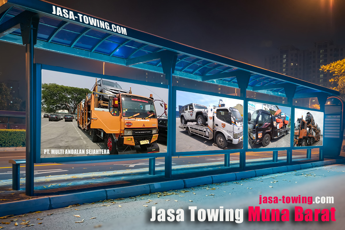 Jasa Towing Muna Barat