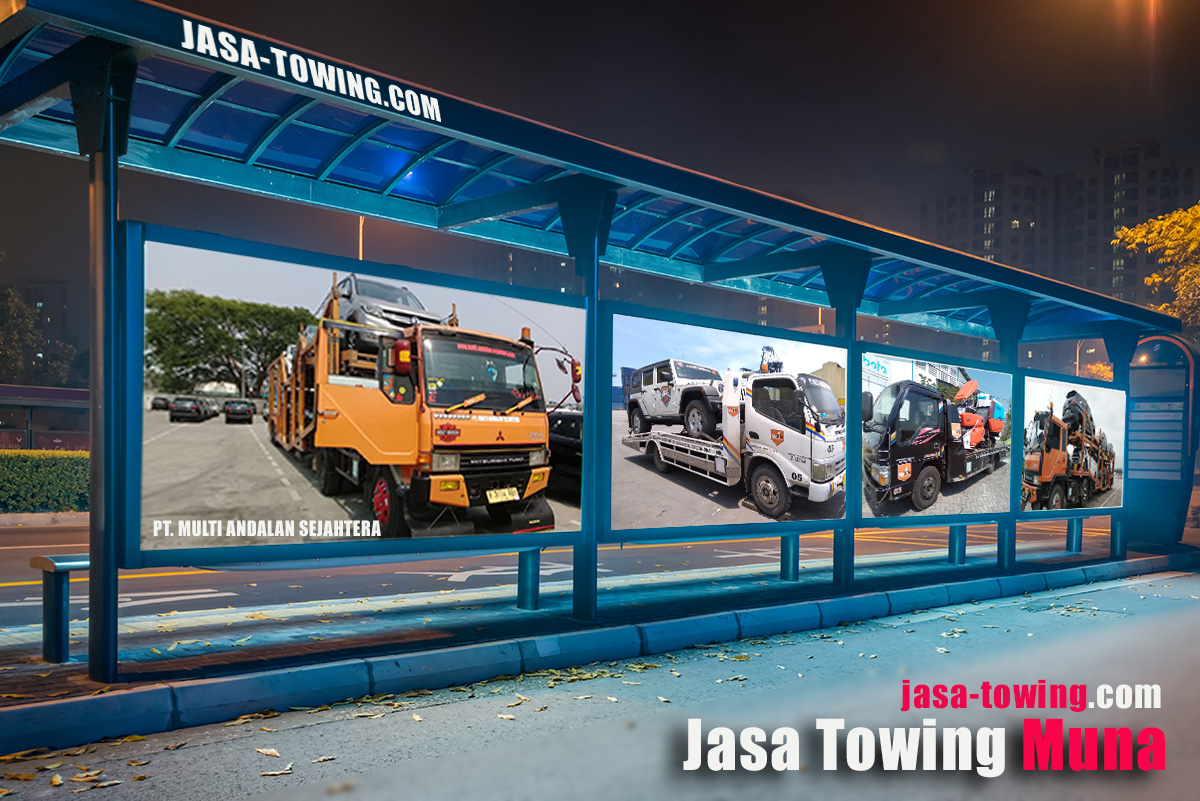Jasa Towing Muna