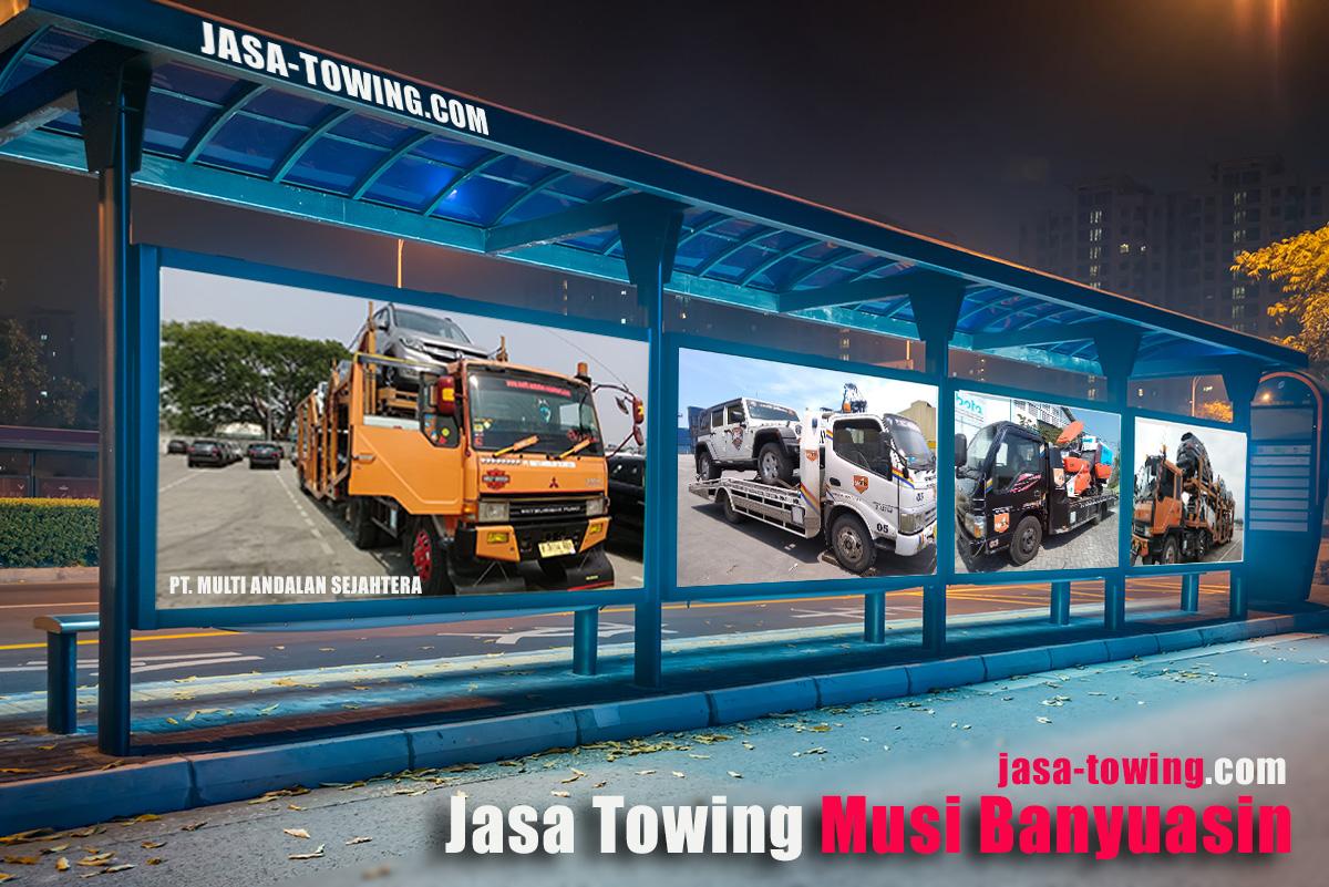 Jasa Towing Musi Banyuasin